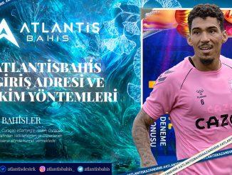 Atlantisbahis Giriş Adresi Ve Çekim Yöntemleri