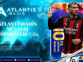 Atlantisbahis Müşteri Hizmetleri 7 24