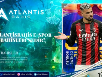 Atlantisbahis E Spor Bahisleri Nedir